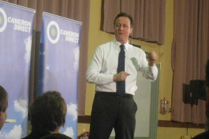 Cameron in Edgbaston